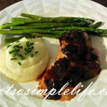 Gluten Free, Soy Free, Diary Free Dinner Recipe: Pork Tenderloin with a Tart Cherry Sauce