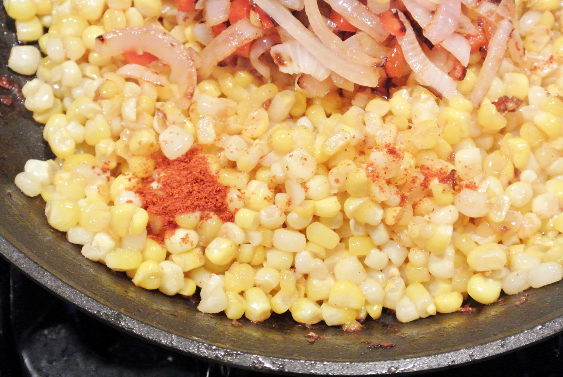 Roasted Corn with Jalapenos