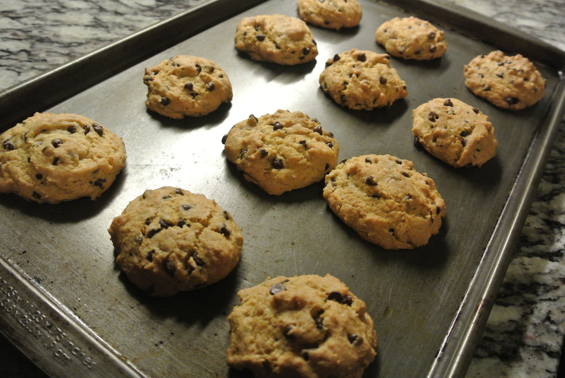 GF SF Chocolate Chip Cookie Baked
