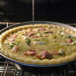 Ham and Zucchini or Broccoli Quiche Recipe; Gluten Free, Dairy Free, Soy Free, Nut Free