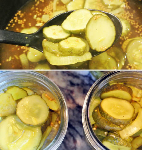 Hot Packing Bread and Butter Pickles