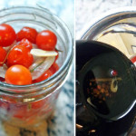 Organic Canning: Pickled Cherry Tomatoes with Rosemary