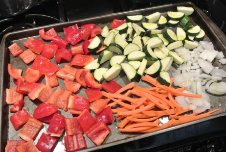 Roasting Veggies in the Oven