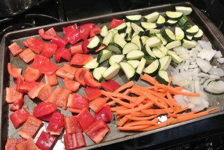 Roasting Veggies in the Oven