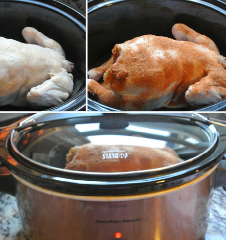 Crockpot Rotisserie Chicken GF SF Recipe