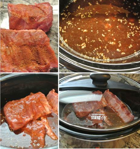 Crock Pot BBQ Ribs - GF SF DF NF Recipe