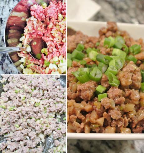 Gluten Free Soy Free Dairy Free Nut Free  Pork Asian Lettuce Wraps