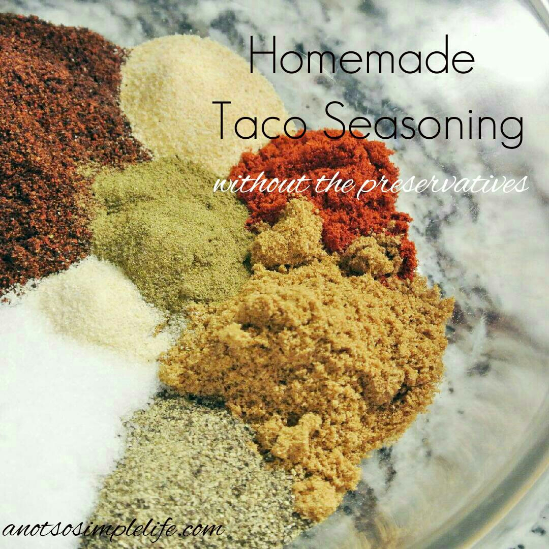 Preservative Free Taco Seasoning