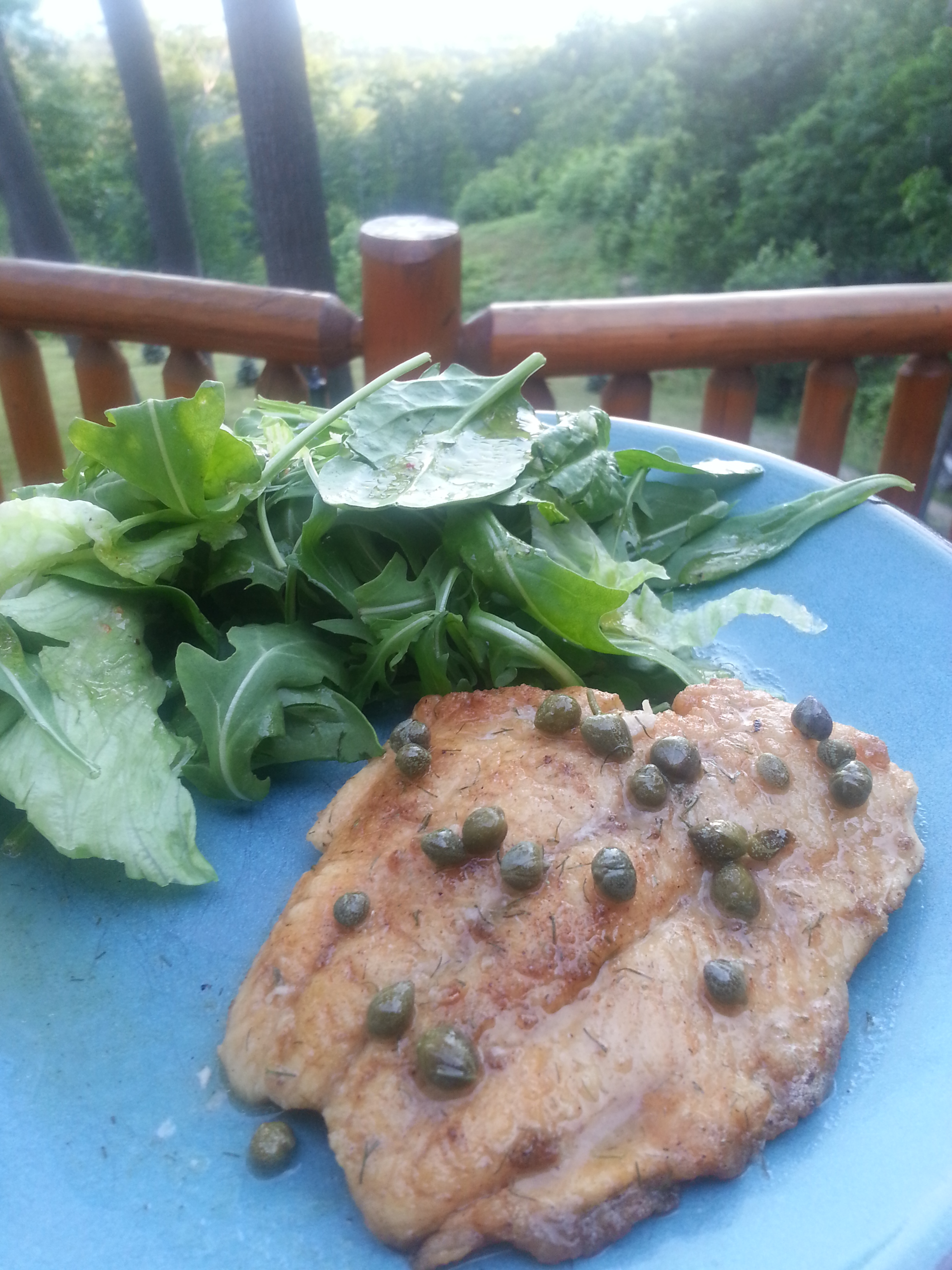 Fish Picatta with Lake Trout; Gluten Free, Soy Free, Dairy Free, Nut Free Recipe