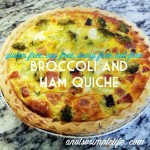 Ham and Broccoli Quiche Recipe; Gluten Free, Soy Free, Dairy Free, Nut Free Recipe