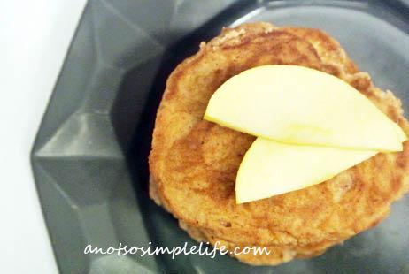 GF Apple Fritter Pancakes; gluten free, dairy free, soy free, nut free recipe