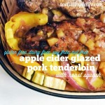 Apple Cider Glazed Pork Tenderloin with Roast Squash