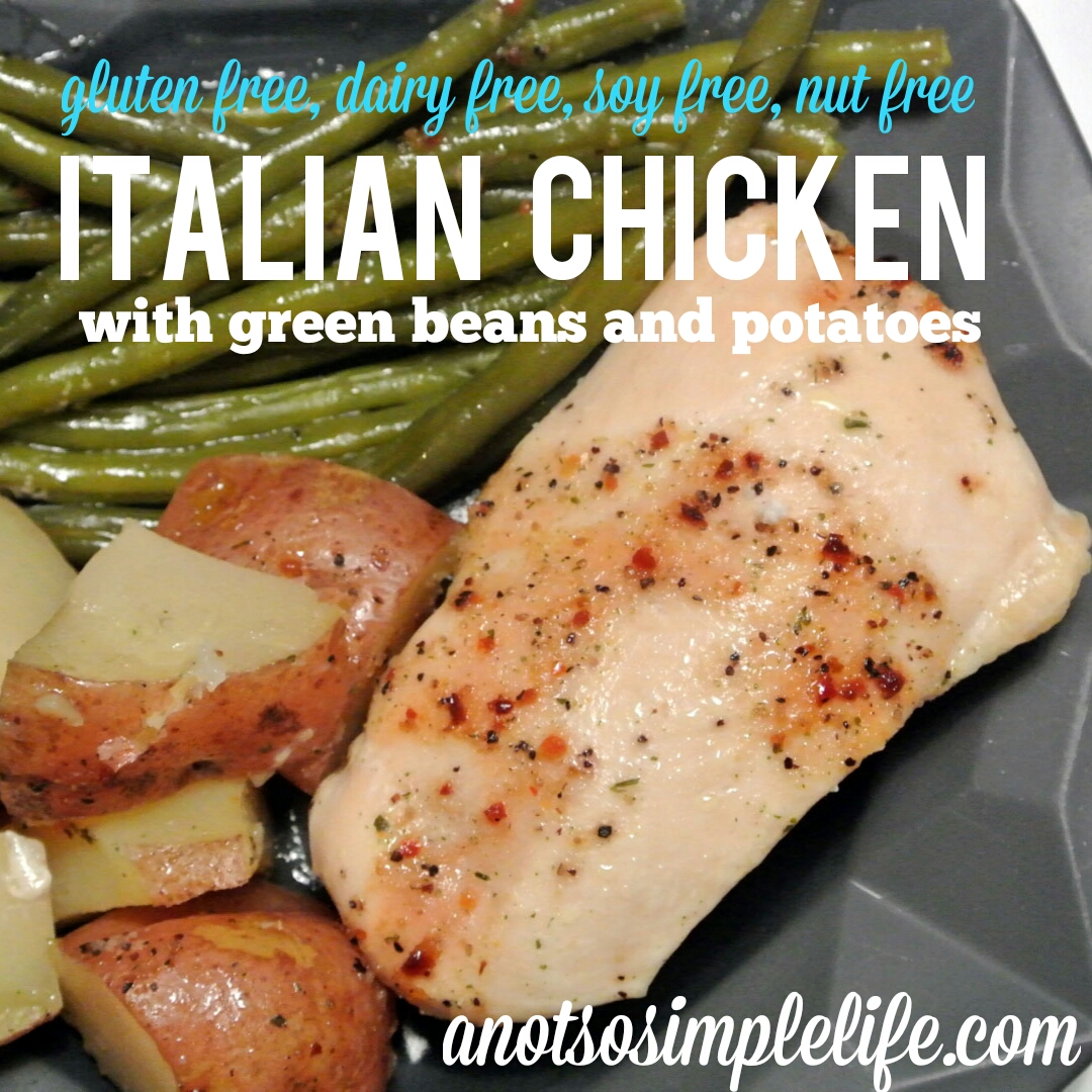 Italian Chicken with Green Beans and Potatoes (4)