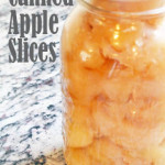 Canning Apple Slices in Extra Light Syrup; Preserving the Harvest