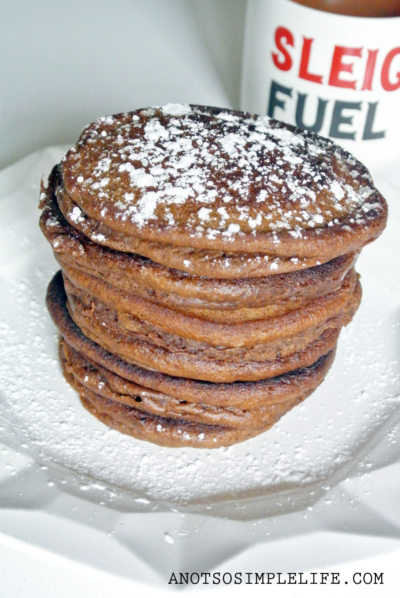 Gluten Free, Dairy Free, Soy Free, Nut Free Gingerbread Pancakes
