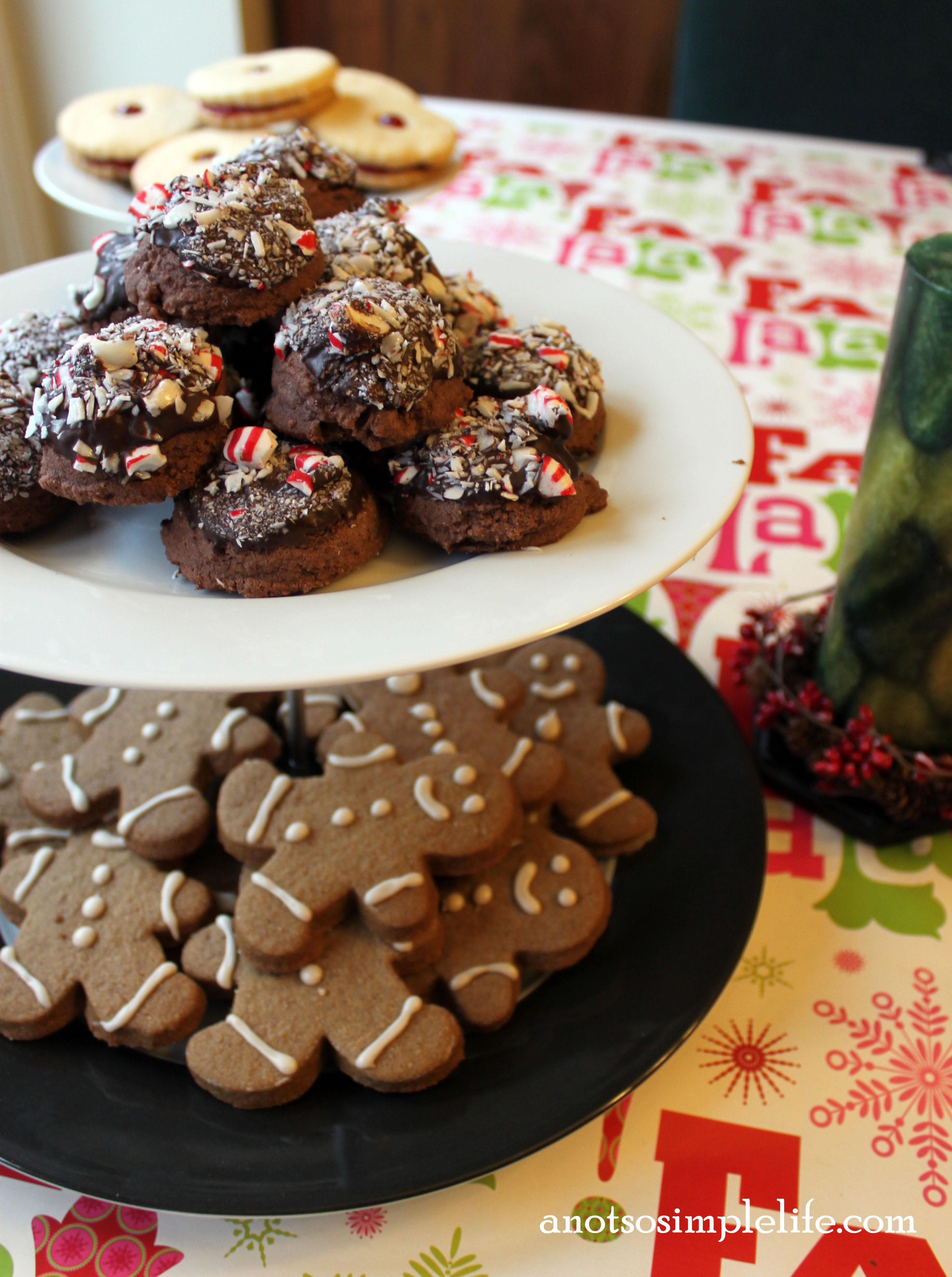 Chocolate Peppermint Drop Cookies 2