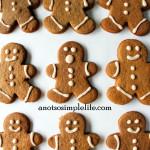 Allergen Free Gingerbread Cookies; Gluten Free, Dairy Free, Soy Free, Nut Free, Egg Free, Corn Free Recipe