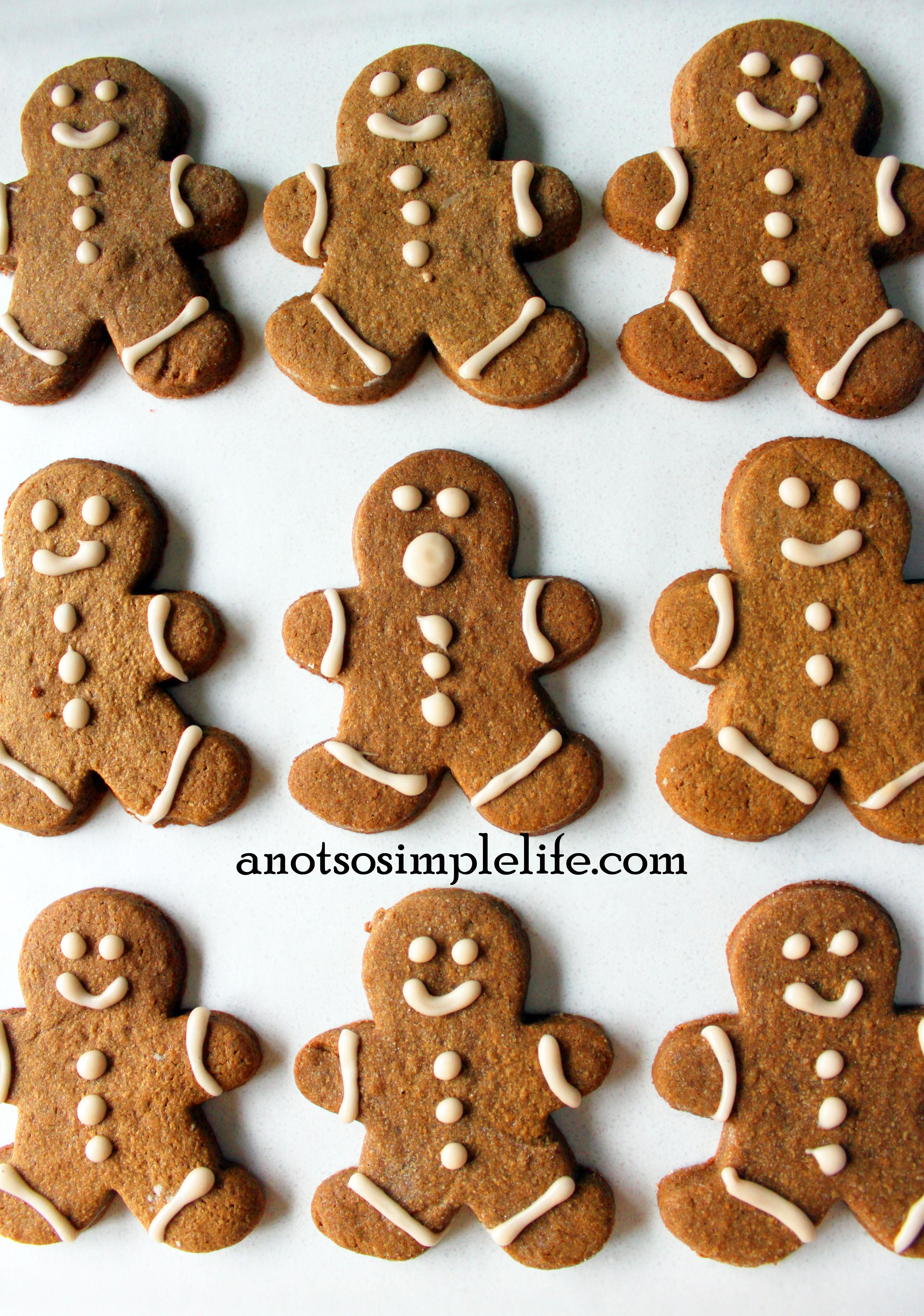 Allergen Free Gingerbread Men; Gluten Free, Dairy Free, Soy Free Nut Free Egg Free Recipe