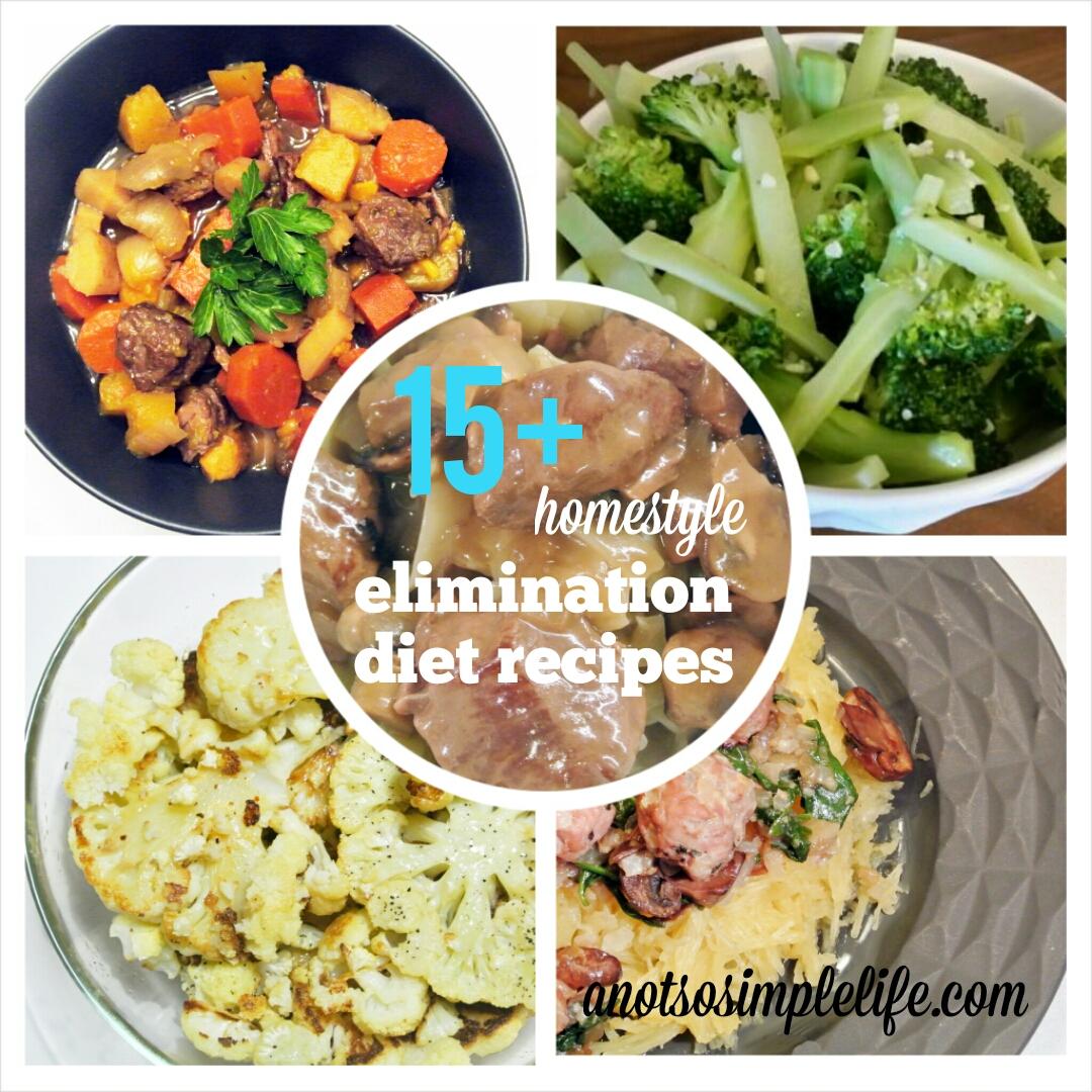 Elimination Diet Recipes; A Month of Allergen Free Food