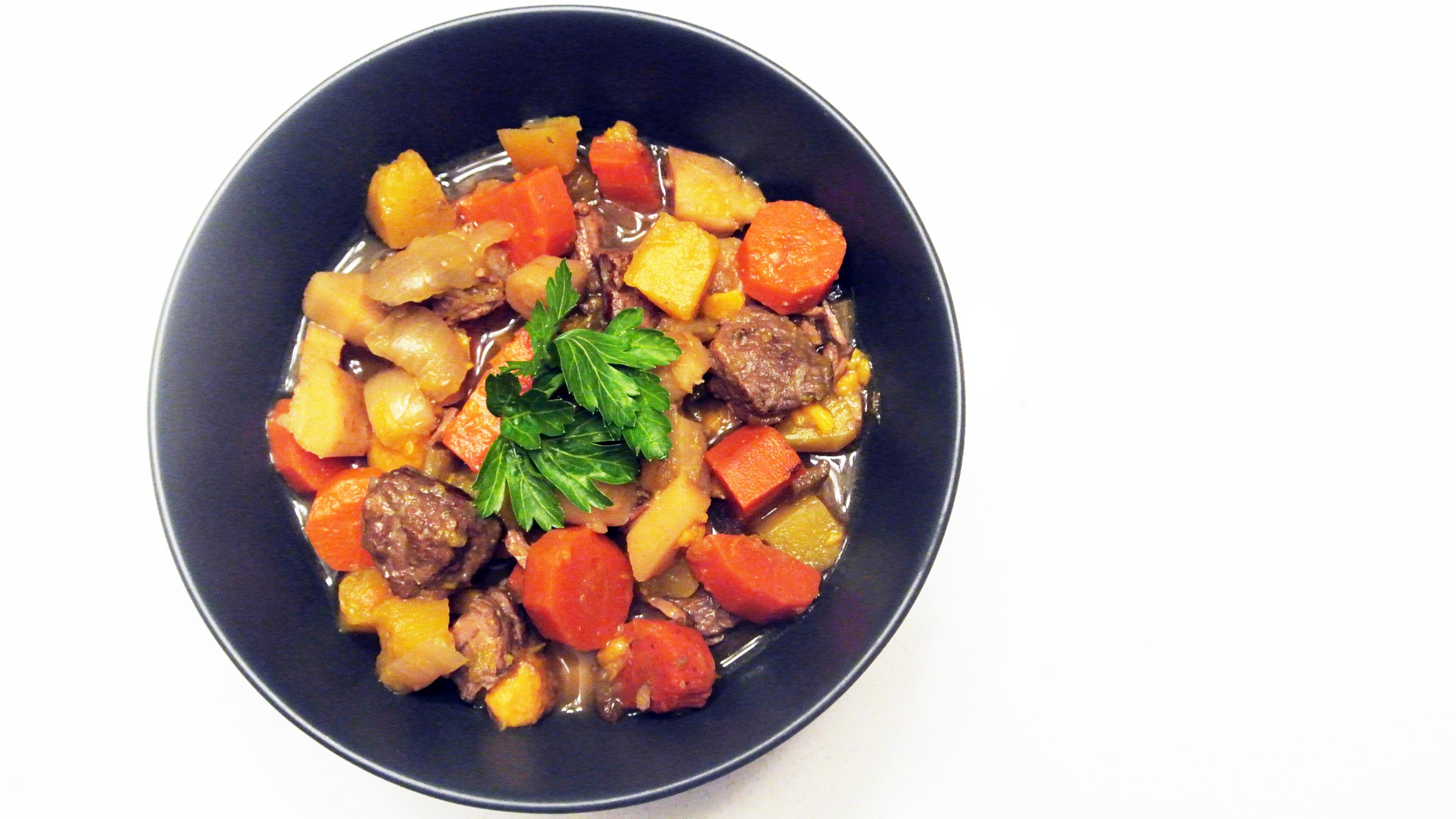Lamb and Winter Veggie Stew; elimination diet recipe