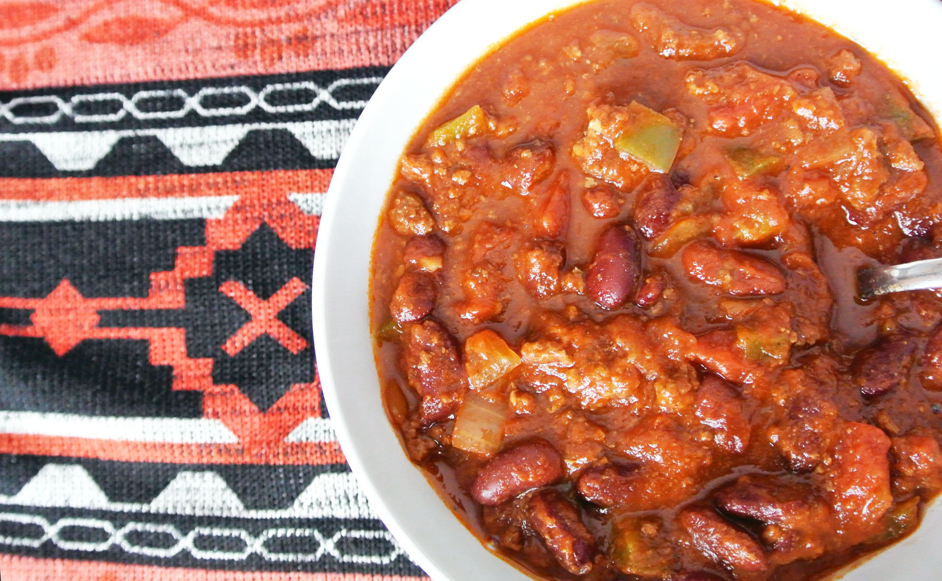 Buffalo Chili in the Crock Pot