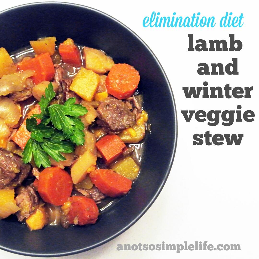 Lamb and Winter Veggie Stew