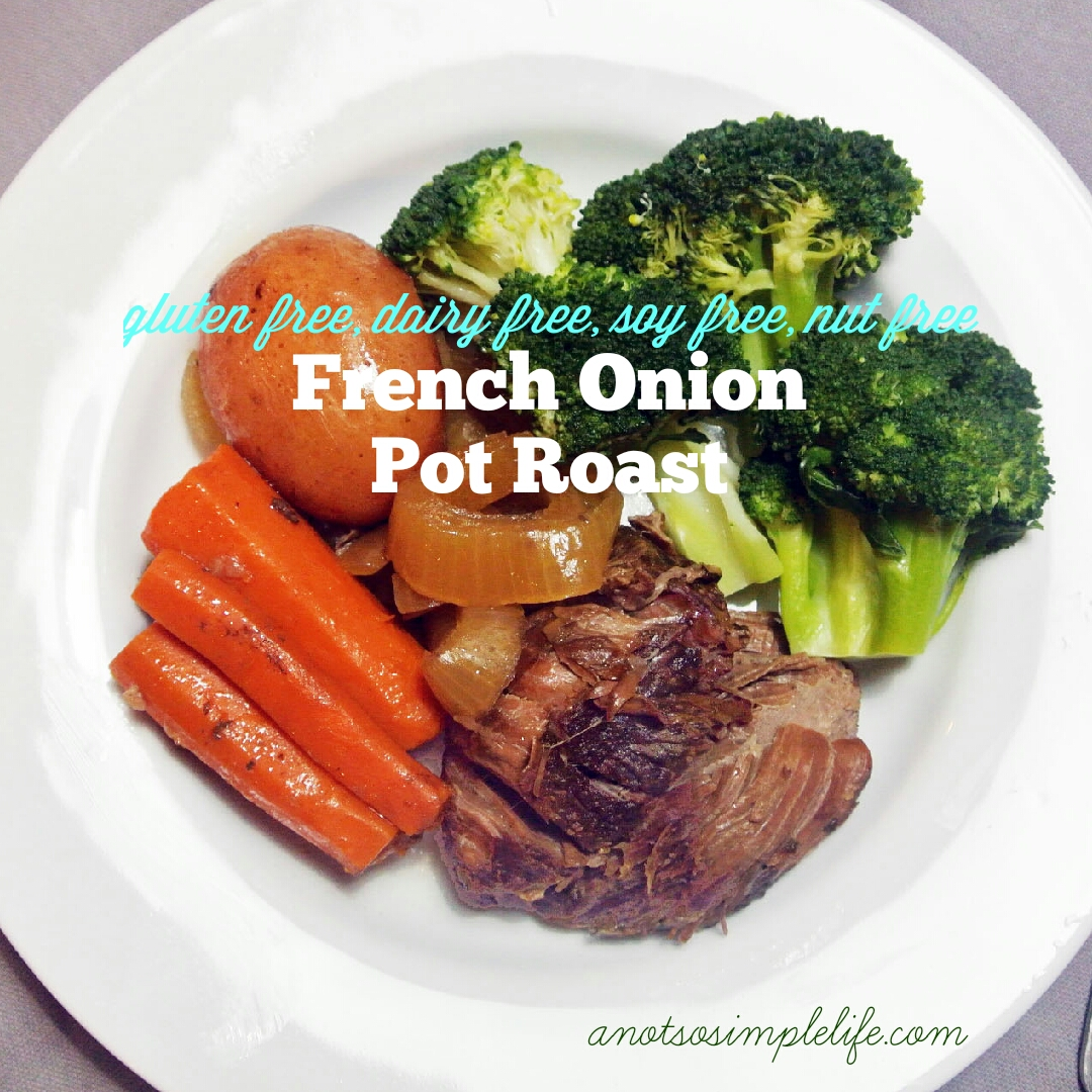 French Onion Pot Roast in the Crock Pot