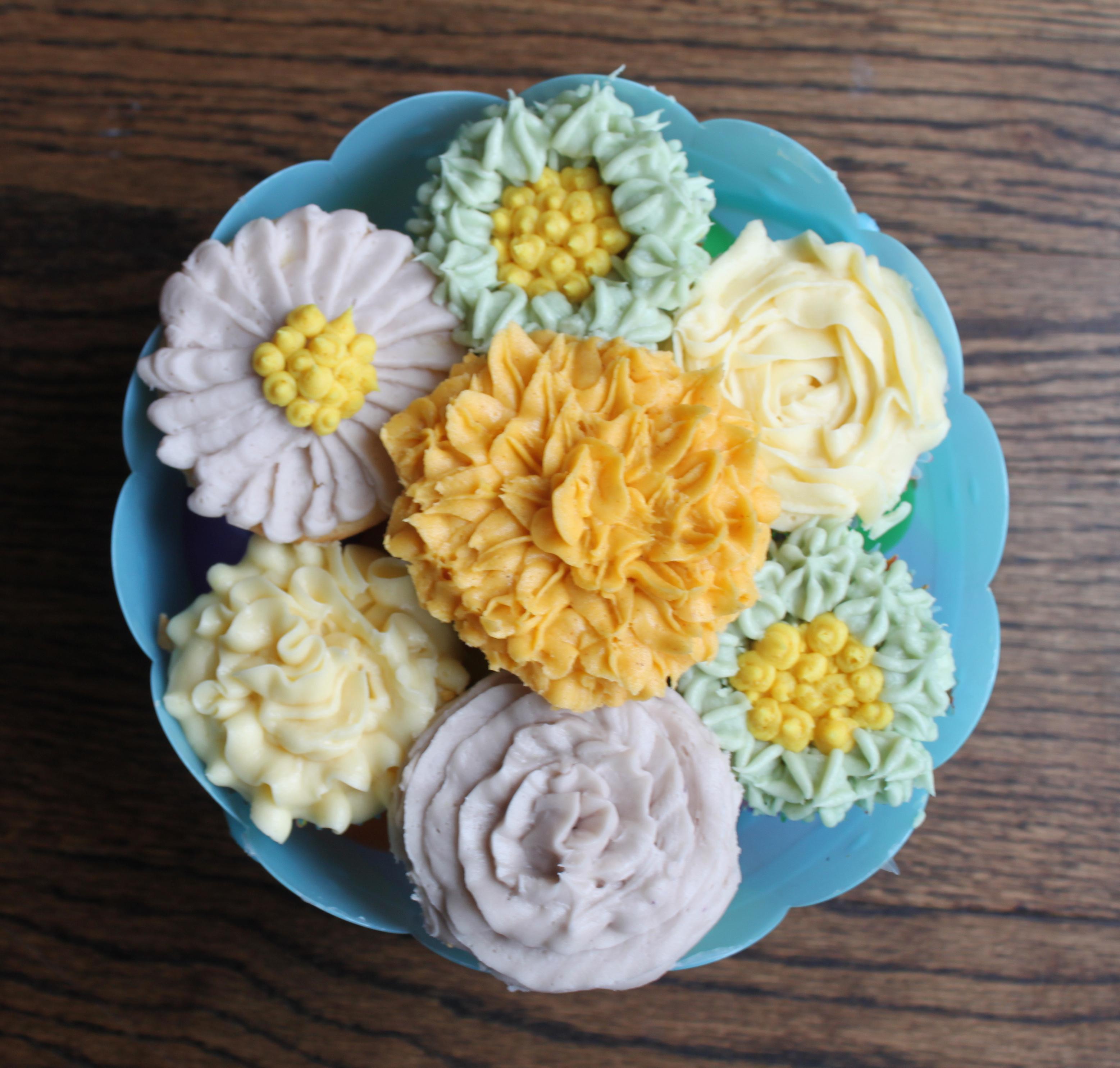 Cupcake Flower Bouquet (15)