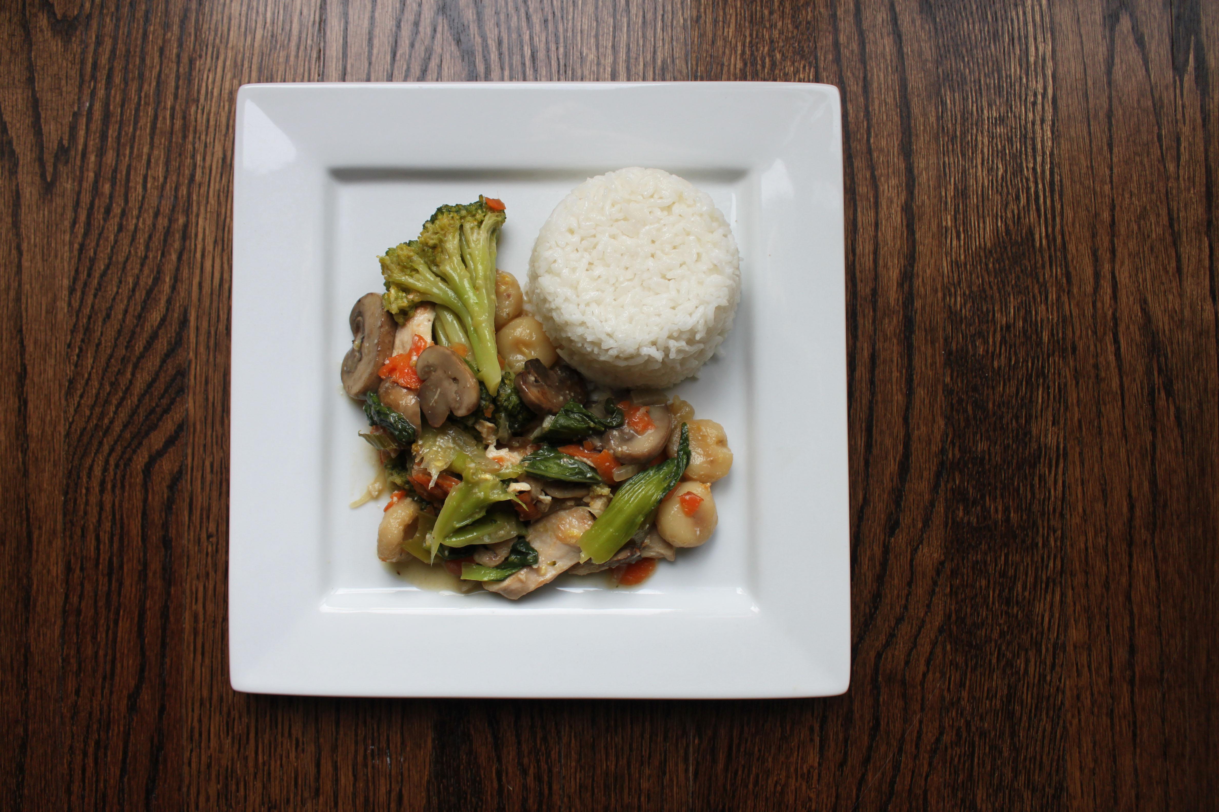 Bok Choy Stir Fry Title 2