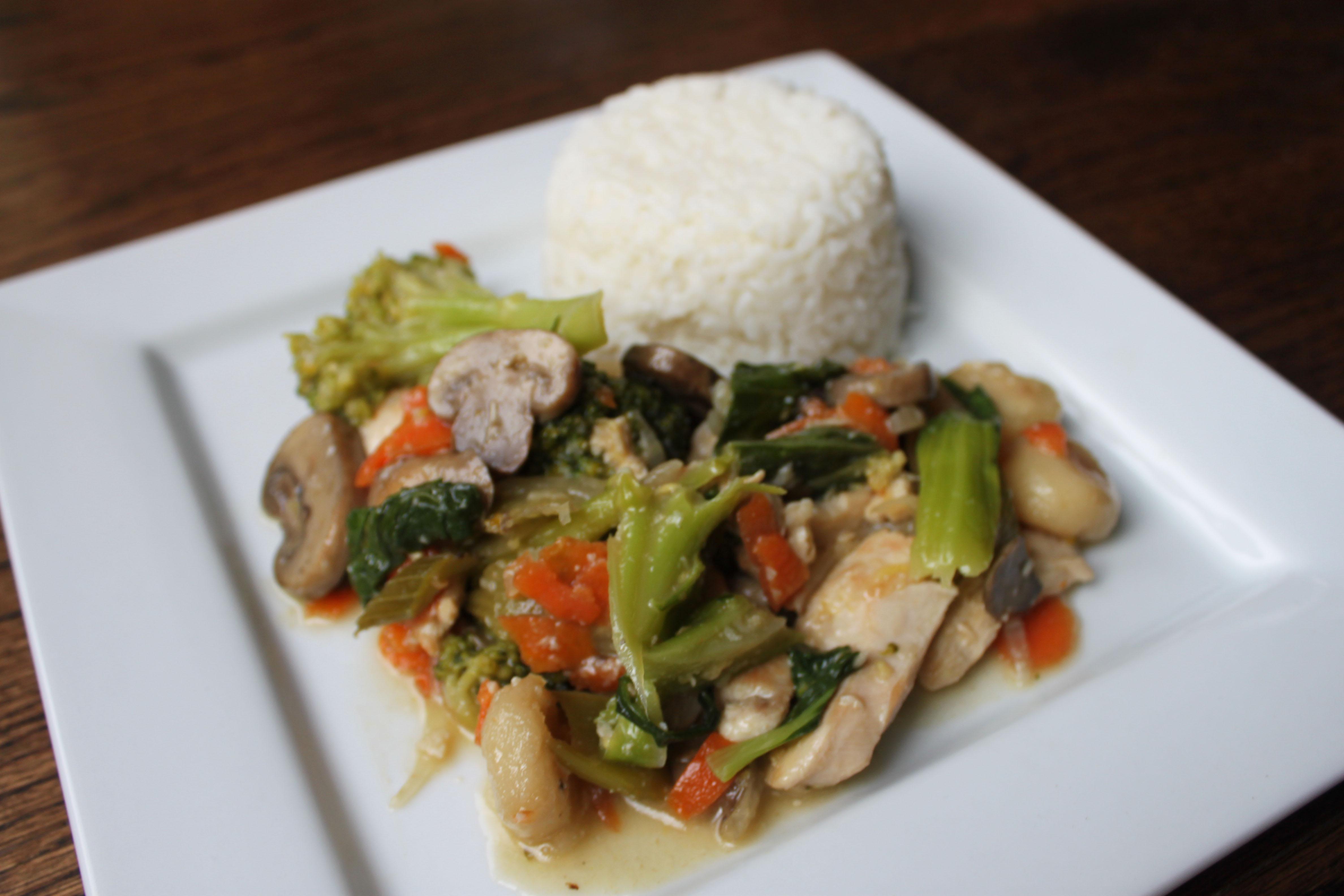 Bok Choy Stir Fry Title