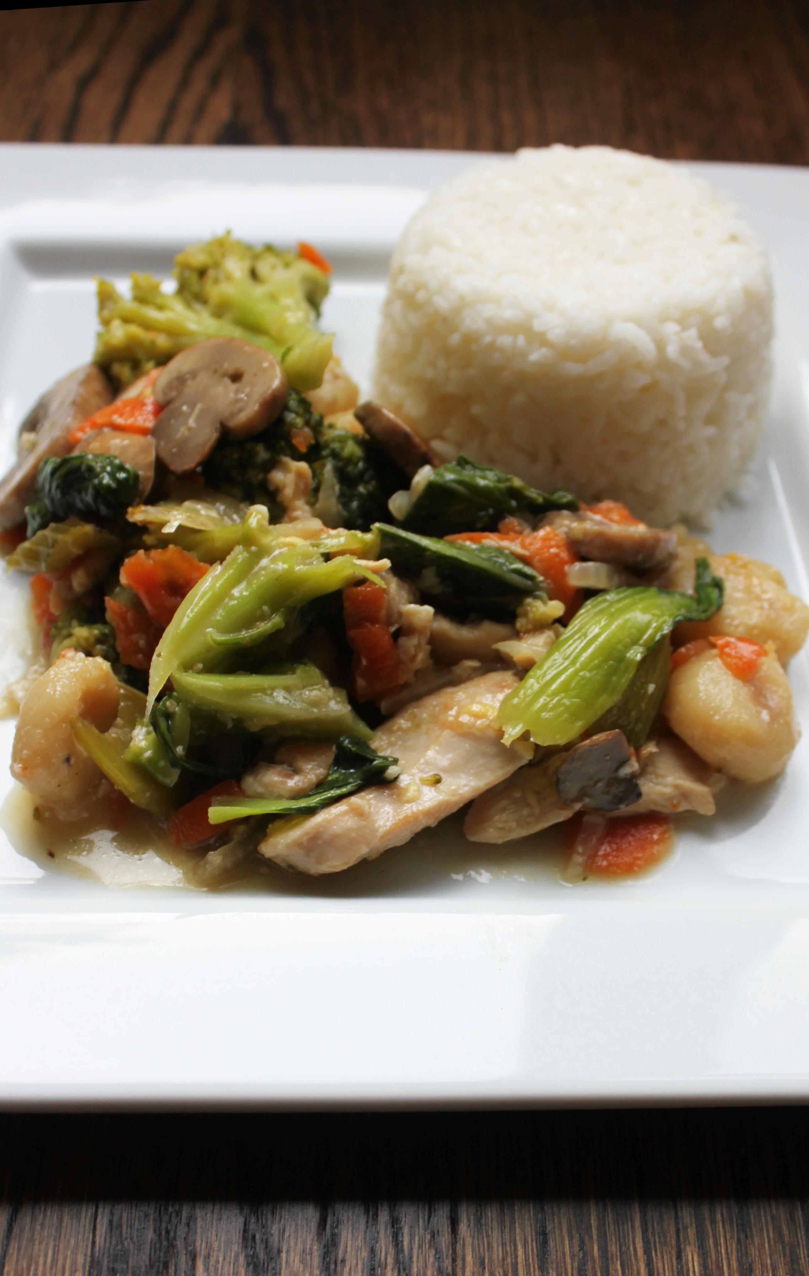 Bok Choy Stir Fry1
