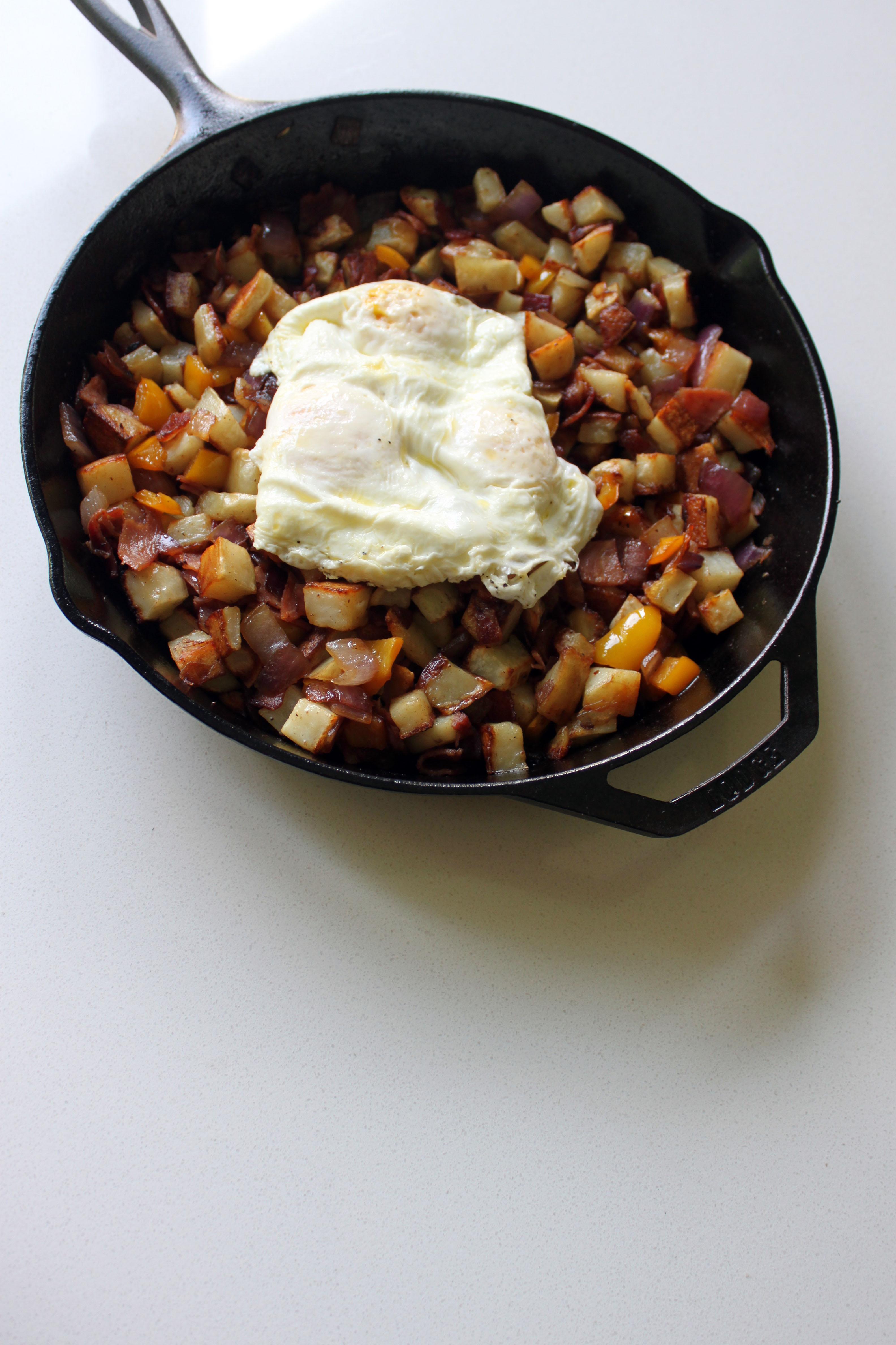 Breakfast Skillet R Title