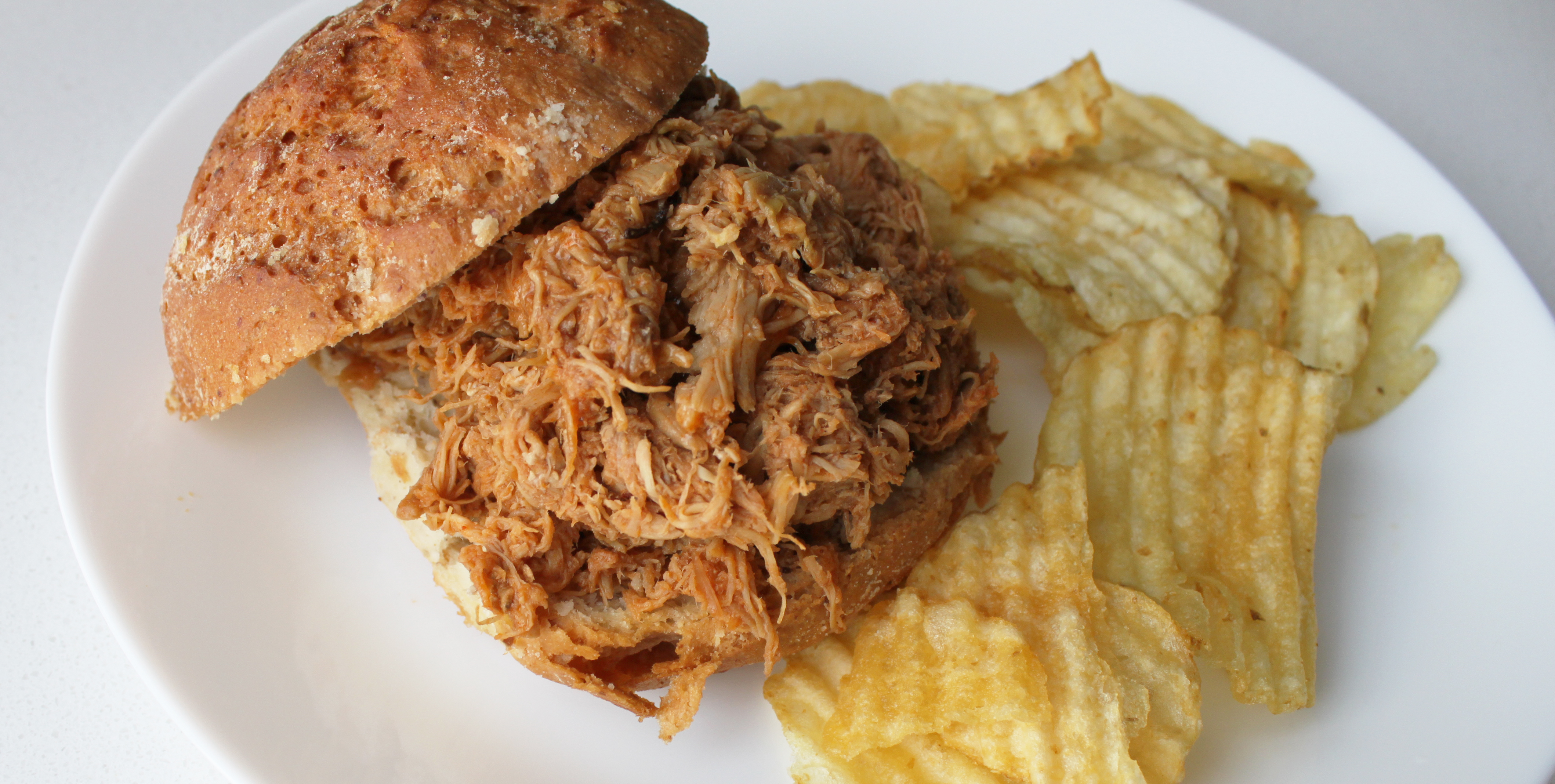 Crock Pot Rootbeer BBQ Pulled Chicken