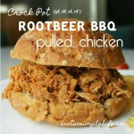 Crock Pot Rootbeer BBQ Pulled Chicken; Gluten Free, Dairy Free, Soy Free, Nut Free Recipe