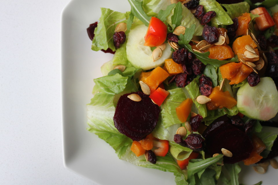 Beet and Butternut Harvest Salad (7)