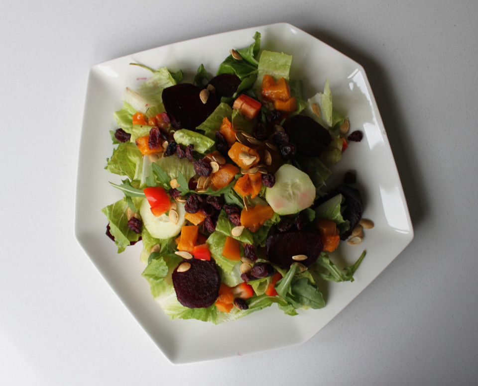 Beet and Butternut Harvest Salad (8)