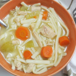 Homemade Gluten Free Chicken Noodle Soup