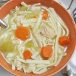 Homemade Gluten Free Chicken Noodle Soup