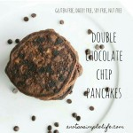 Double Chocolate Chip Pancakes; Gluten Free, Dairy Free, Soy Free, Nut Free Recipe