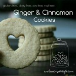 Cookies Ginger and Cinnamon