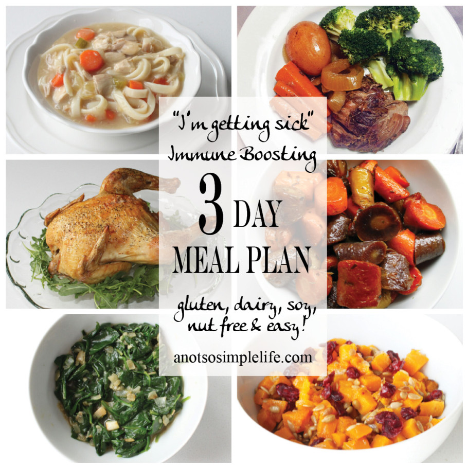 Immune Boosting Mealplan