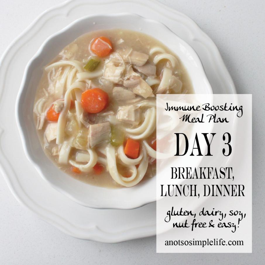 Immune Boosting Mealplan Day 3