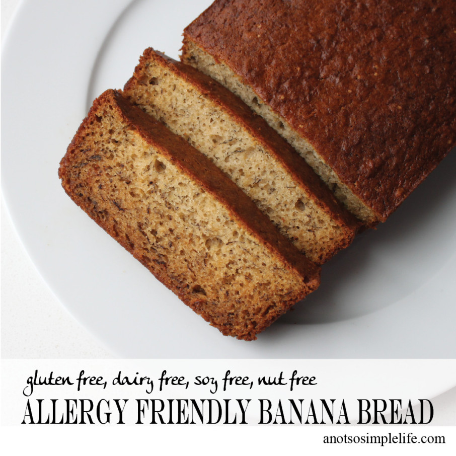 Allergy Friendly Banana Bread