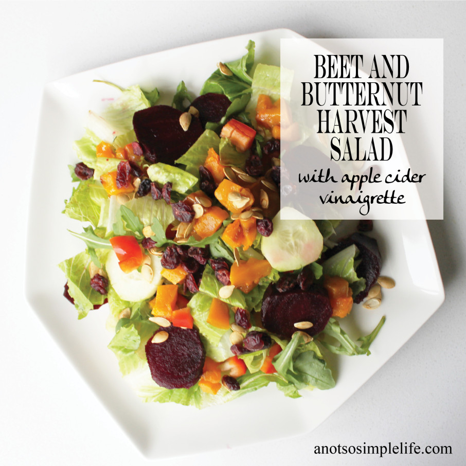 Beet and Butternut Harvest Salad