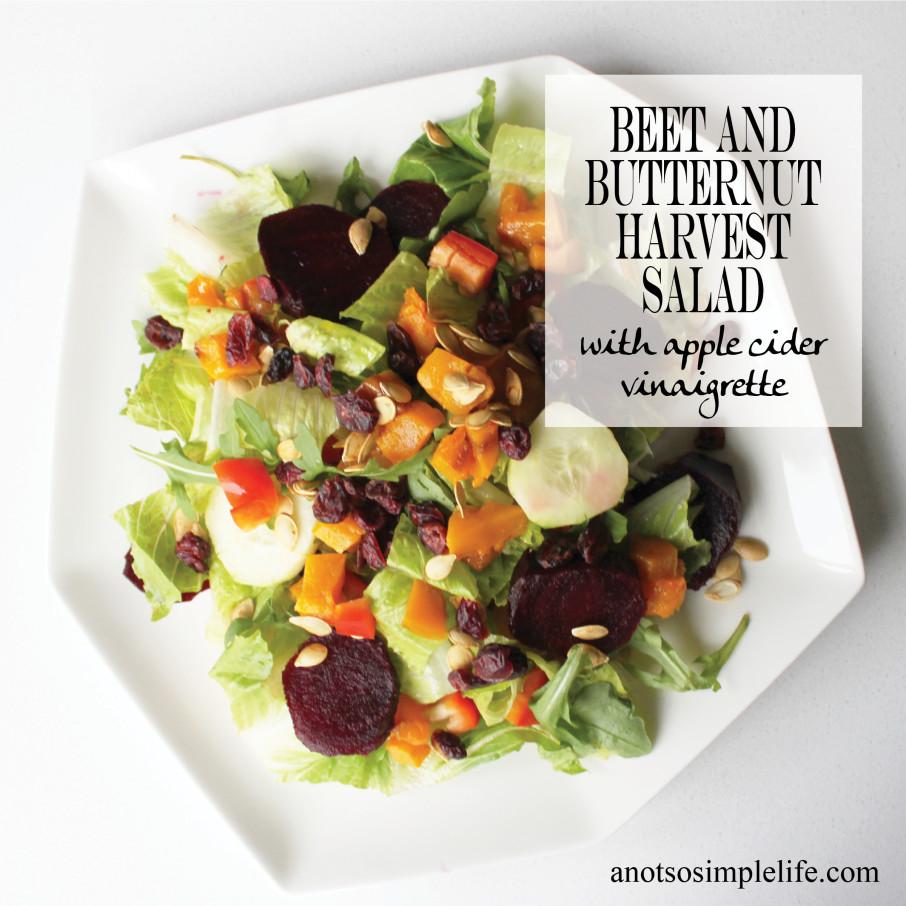 Beet and Butternut Harvest Salad