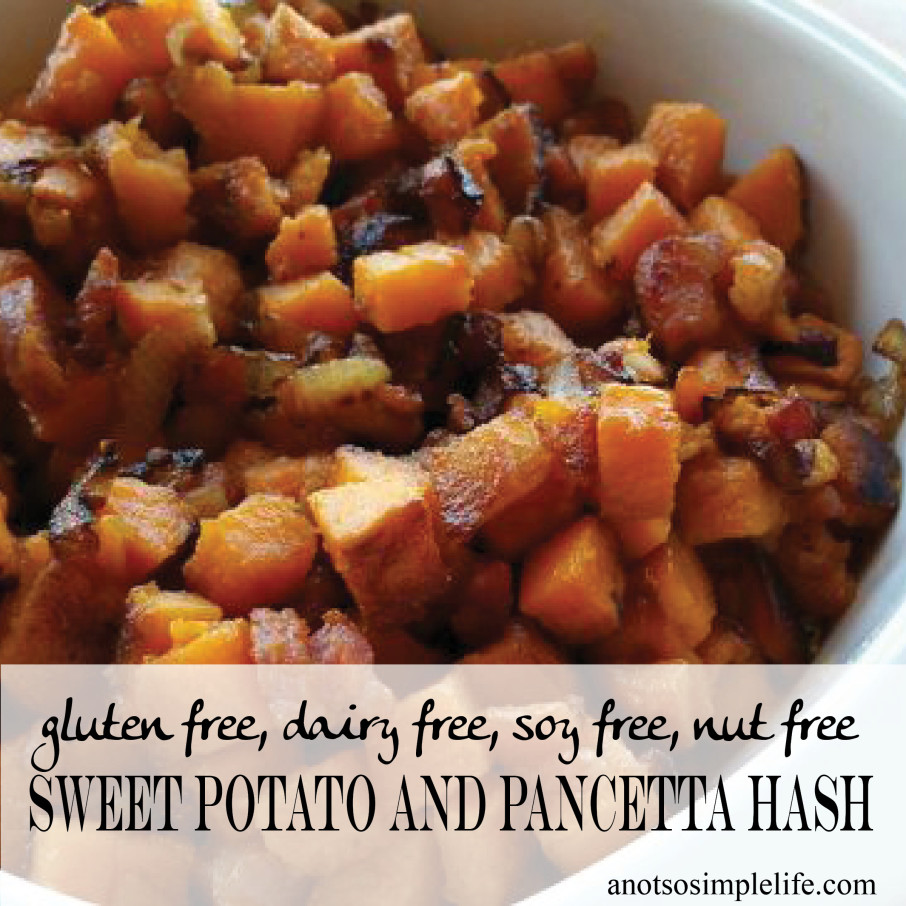 Sweet Potato and Pancetta Hash