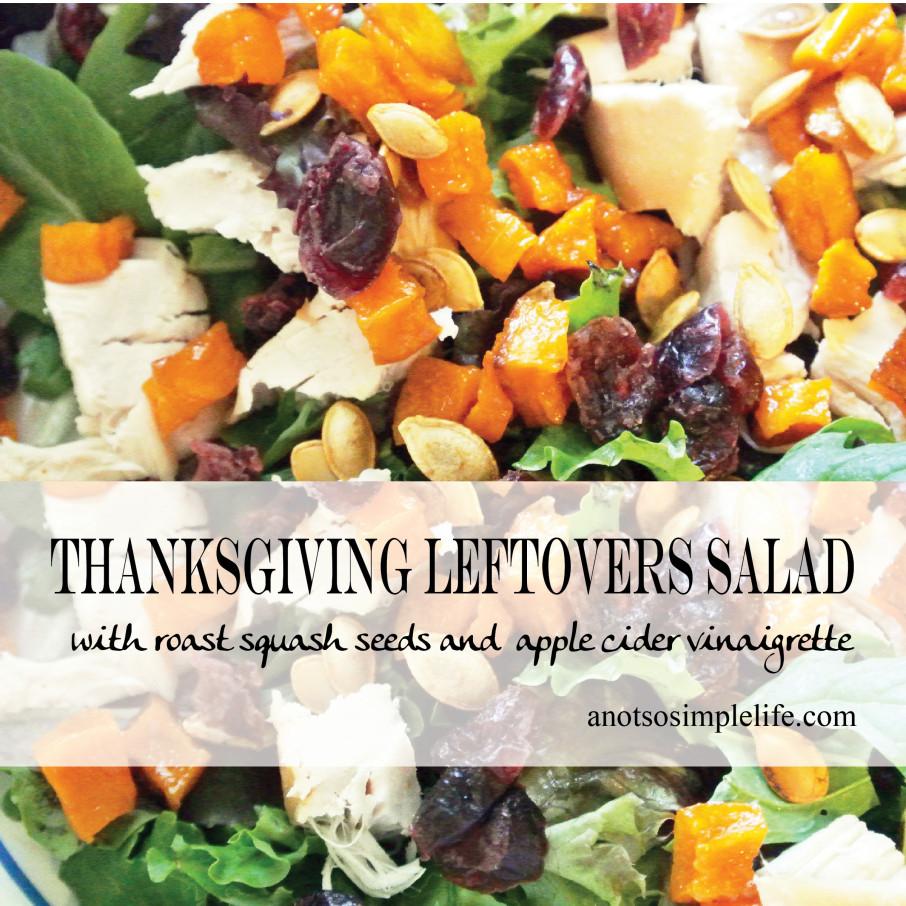 Thanksgiving Leftover Salad