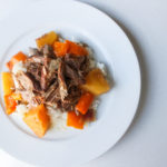 Crock Pot Hawaiian Shredded Pork Over Rice; Gluten Free, Dairy Free, Soy Free, Nut Free Recipe