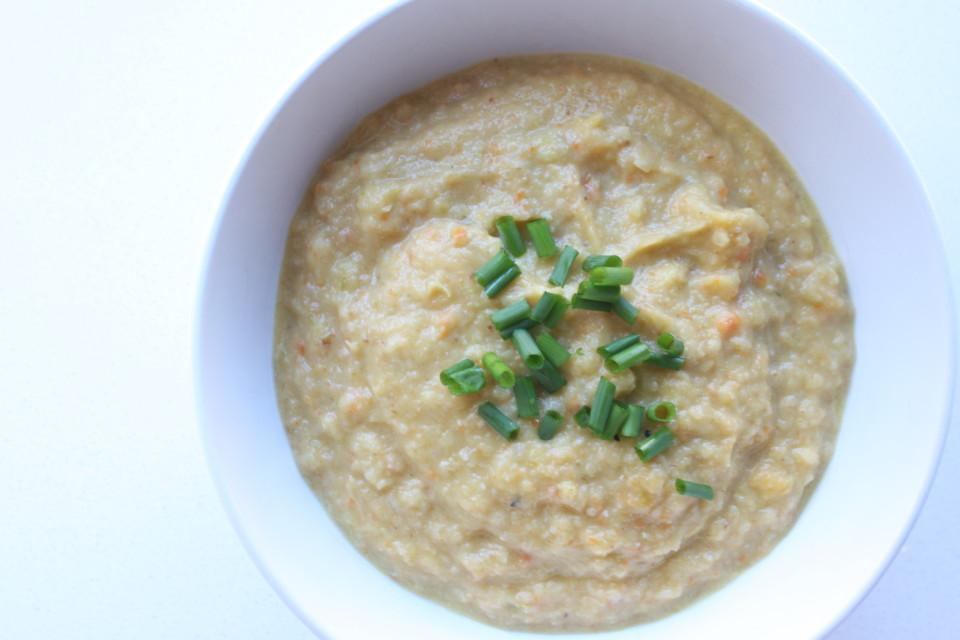 Leek and Cauliflower Soup (5)