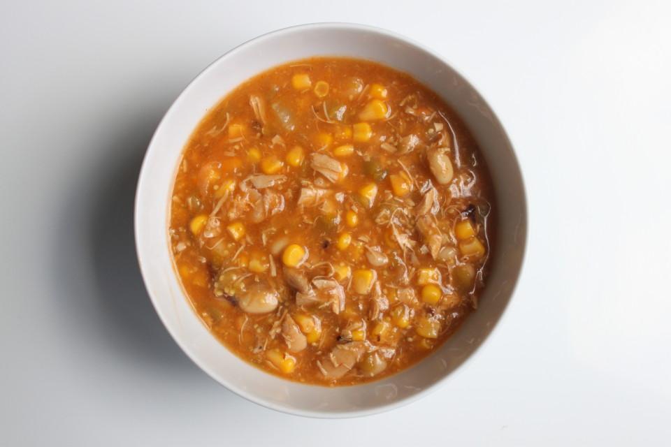Chicken Tomatillo Bean Stew (5)
